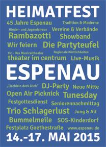 Postkarte Heimatfest Espenau